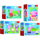 Peppa Pig: Ziua fericită a lui Peppa - mini puzzle cu 54 piese - diferite