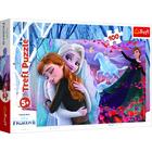 Frozen 2: Împreună pentru totdeauna - puzzle cu 100 de piese