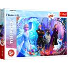 Frozen 2: Lumea magică - puzzle cu 100 de piese