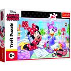 Trefl: Minnie egér, Egy nap a legjobb baráttal - 160 darabos puzzle