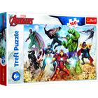 Răzbunătorii: Pregătit pentru salvarea lumii - puzzle cu 160 de piese