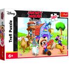 Mikiegér: Mickey a farmer 160 darabos puzzle