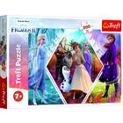 Frozen 2: Surorile din Ținutul înghețat - puzzle cu 200 de piese