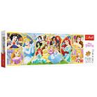 Trefl: Prințesele Disney - puzzle panoramă cu 500 piese