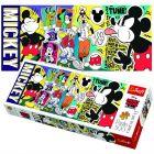 Trefl: Legendarul Mickey Mouse - puzzle panoramă cu 500 piese