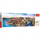 Trefl: Porto, Portugália - puzzle panoramă cu 500 piese