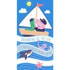 Peppa malac: George a tengerész törölköző - 70 x 140 cm