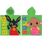 Bing nyuszi: Bing és Sula kapucnis fürdőponcsó - 50 x 115 cm