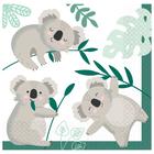 Koala macis szalvéta 33 x 33 cm - 16 db