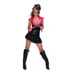 Playboy: Felnőtt kalózlány jelmez - XS