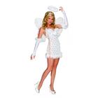 Playboy: Felnőtt fehér angyal jelmez - XS