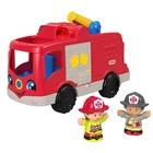 Little People: Camion de pompieri - în lb. maghiară