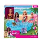 Barbie: Păpușă Barbie cu piscină