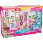 Barbie: Căsuță pentru păpuși, complet mobilat