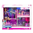Barbie Space Discovery: Păpușă Stacie cu telescop