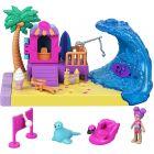 Polly Pocket: Helyszínek játékszett - tengerparton