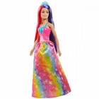 Barbie Dreamtopia: Varázslatos frizura baba - hercegnő