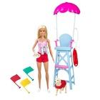 Barbie: Sportos játékszett - vízimentő Barbie