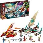 LEGO Ninjago: Luptă pe mare cu catamaranul - 71748