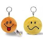 Nici: Plüss kulcstartó - smiley