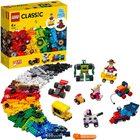 LEGO Classic: Cărămizi și roți - 11014