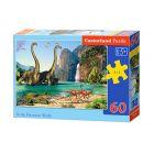 Castorland: A dinoszauruszok világa 60 darabos puzzle
