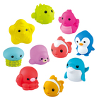 Playgo: Jucărie de baie - Set colorat de animăluțe stropitoare