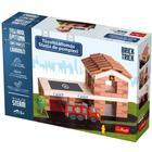 Brick Trick: Stație de pompieri din cărămiduțe - set de construcție