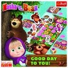 Trefl: Masha and the Bear: O zi bună! - joc de societate cu instrucțiuni în lb. maghiară