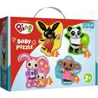 Trefl: Bing și prietenii - puzzle pentru bebeluși