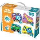 Trefl: Utilaje - puzzle pentru bebeluși
