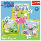 Trefl: O zi fericită - puzzle 3-în-1