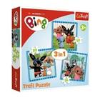 Trefl: Bing și prietenii - puzzle 3-în-1