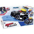 Slam Power: mașină de poliție neagră cu sunet
