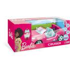 Mondo Motors: Barbie Cruiser RC - mașinuță cu sunet și lumină controlată de la distanță, 45 cm