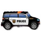Rendőrautó fólia lufi - 82 cm-es