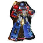 Transformers: Balon folie Optimus Prime care poate fi așezat pe suport