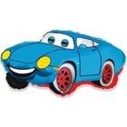 Autós fólia lufi - kék, 36 cm