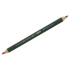 Faber-Castell: Creion bicolor roșu-albastru - gros