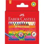 Faber-Castell: Színes zsírkréta 24 db-os