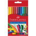 Faber-Castell: Összecsatolható filctoll készlet - 10 db