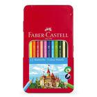Faber-Castell: Színes ceruzakészlet - 12 db-os, fémdobozos