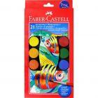Faber-Castell: Vízfesték 21 db 30mm korongokkal