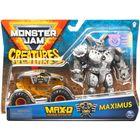 Monster Jam: MAX-D kisautó Maximus figurával - CSOMAGOLÁSSÉRÜLT