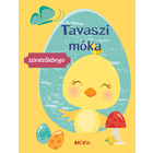 Distracție de primăvară - carte de colorat în lb. maghiară