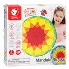 Mandala készítő fa puzzle