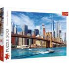 Trefl: New York-i kilátás - 500 darabos puzzle
