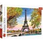 Trefl: Romantikus Párizs - 500 darabos puzzle