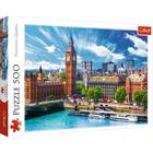 Trefl: Napos idő Londonban - 500 darabos puzzle