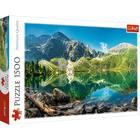 Trefl: Morskie Oko-tó, Tátra, Lengyelország - 1500 darabos puzzle